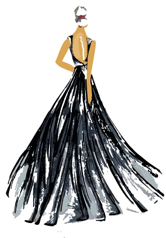 Elena. Figurín de Moda 1