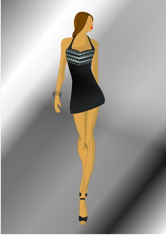 Elena. Figurín de Moda 2