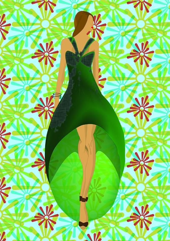 Elena. Figurín de Moda 3