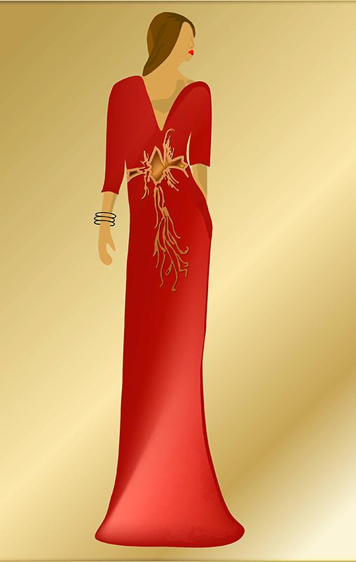 Elena. Figurín de Moda 4
