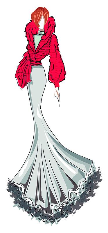 Juana. Figurín de Moda 1