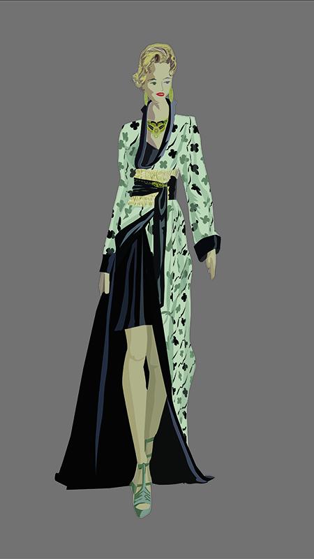 Marijose. Figurín de Moda 1