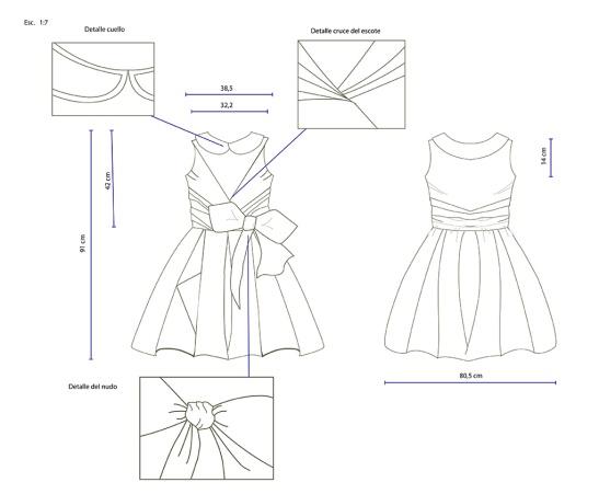 Maria Jose Quiñones: Dibujo en plano. Moda