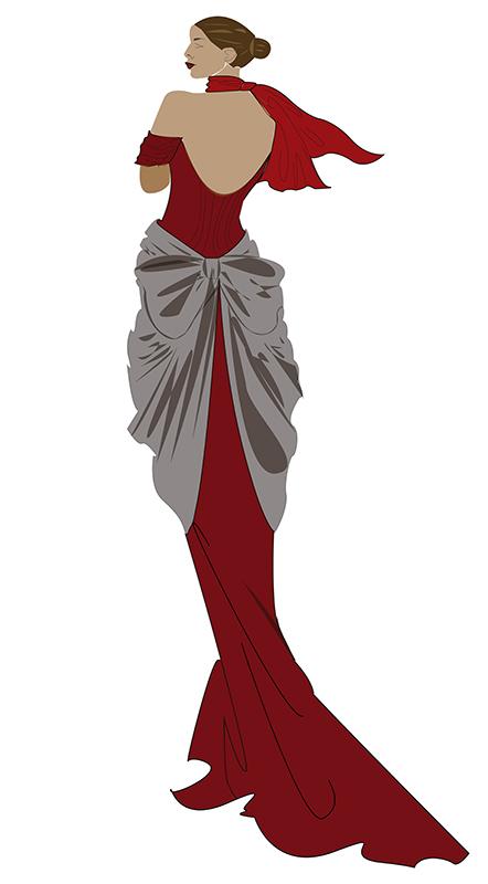Montse. Figurín de Moda 1