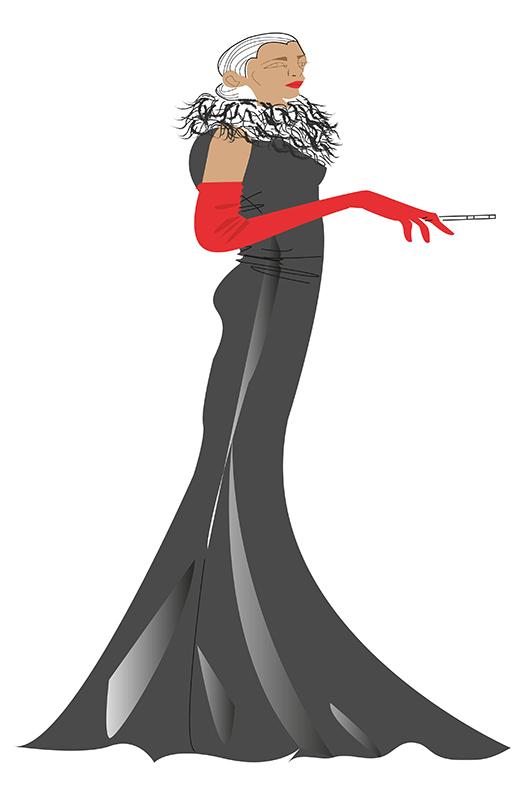 Montse. Figurín de Moda 2
