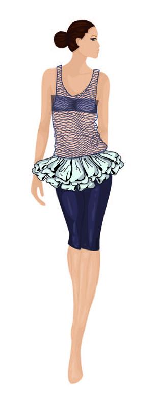 Verónica. Figurín de Moda 3