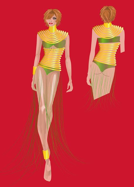 Victoria. Figurín de Moda 2