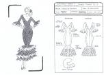 Boceto Ficha Técnica 1: Geometrales y Especificaciones de Costura