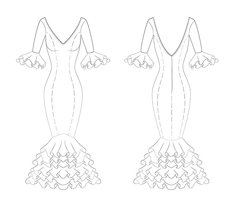 Crear Una Técnica Ficha Diseño Cómo De Moda 3DibujoPixelnomicon A54jRL3