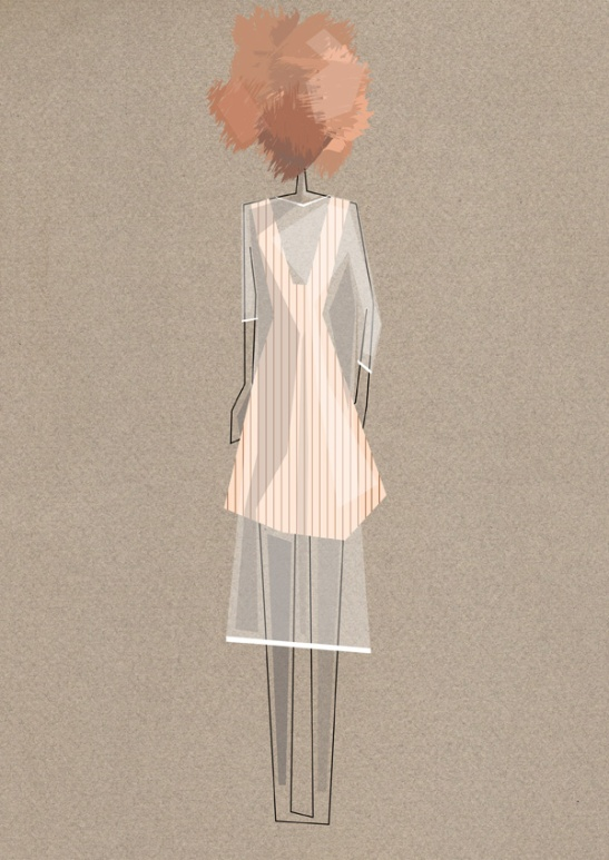 Ilustracion vectorial de moda. pixelnomicon.net. Escuela de Arte de Cádiz