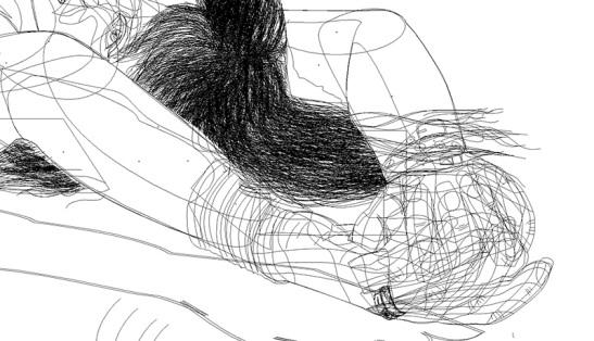 Autorretrato Vectorial-Escuela de Arte de Cadiz-pixelnomicon.net-13-14