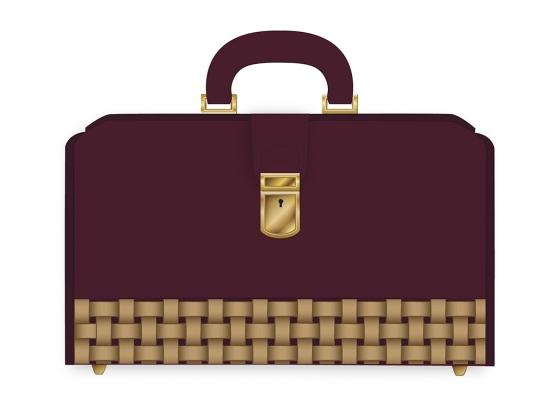 Diseño bolso. Representacion vectorial. pixelnomicon.net
