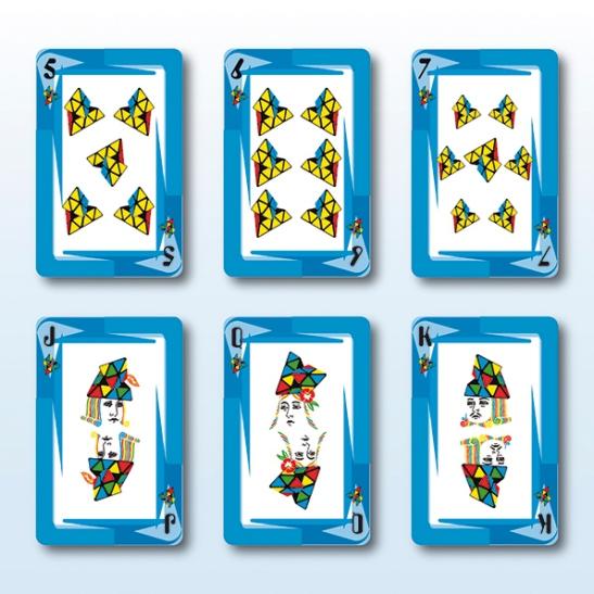 BARAJA DE CARTAS RUBIK 5