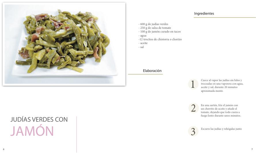 Maquetación de libro de cocina. Gráfica 13-14 | pixelnomicon