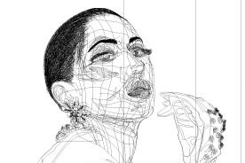 autorretratos vectoriales. Escuela de Arte de Cádiz. 2015-16. pixelnomicon.net