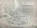 Reparto de zonas sobre un mapa ilustrado por Jesús Rubio
